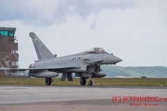 In June 2015 six Royal Air Force Typhoons from 2 Squadron deployed to RNAS Culdrose as part of an exercise.
