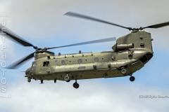 RAF Chinook Display at the Royal International Air Tattoo 2019