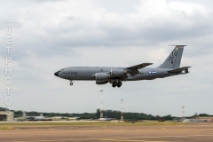 USAFE KC-135R Stratotanker at the Royal International Air Tattoo 2019