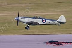 Supermarine Seafire Air Display at RNAS Culdrose Air Day 2015