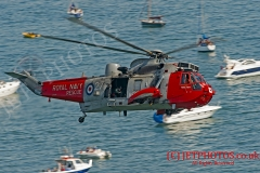 771 Search and Rescue Squadron, Sea King MK5, makes it last ever appearance at Dawlish Airshow