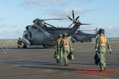 Sea King ASAC MK7 prepare for Exercise Kernow Flag
