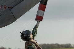 Sea King ASAC MK7 prepare for Exercise Kernow Flag, Pre-flight inspections