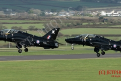 736 Squadron Royal Navy Hawks, launch for Exerise Kernow Flag
