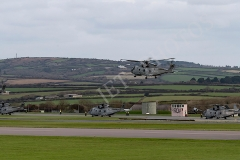 Aircraft embarkation during Exercise Kernow Flag