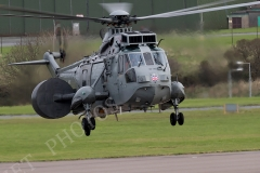 Sea King ASAC Mk7 Helicopters taking part in Exercise Kernow Flag