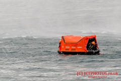 MS10 Liferaft in water with aircrew (Training)