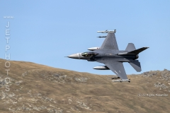 """F-16C aircraft from Homestead Air Reserve Base, Florida transit the A5 Pass in LFA7 (Callsigns Mako 21 and Mako 22) on the 22/05/2019. Whilst in the UK the aircraft were base at RAF Lakenheath, """"Mako 21"""", 51438 featured in this image"""