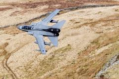 RAF Tornado Gr4, flying low level in the Mach Loop, LFA7 in Snowdonia, Wales