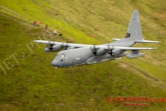 USAF MC-130J Hercules Low Level in Wales