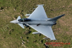 RAF Typhoon, Low Level Fling in Wales
