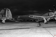 Sea Fury VX281 and WR930