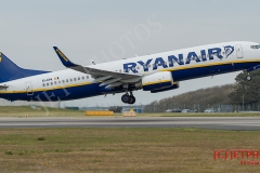 Ryanair, Boeing 737-8AS EI-EPA at Newquay Airport