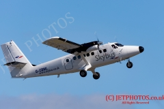 Skybus-De Havilland Canada DHC-6-300 Twin Otter operating from Newquay to Isles of Scilly
