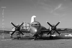 Vickers Varsity WJ945 at a day/nightshoot at Cornwall Aviation Heritage Centre