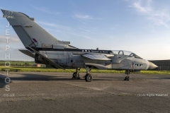 """RAF Tornado GR4, """"Shiny Two"""" Second to None, ZA398 at a day/nightshoot at Cornwall Aviation Heritage Centre"""