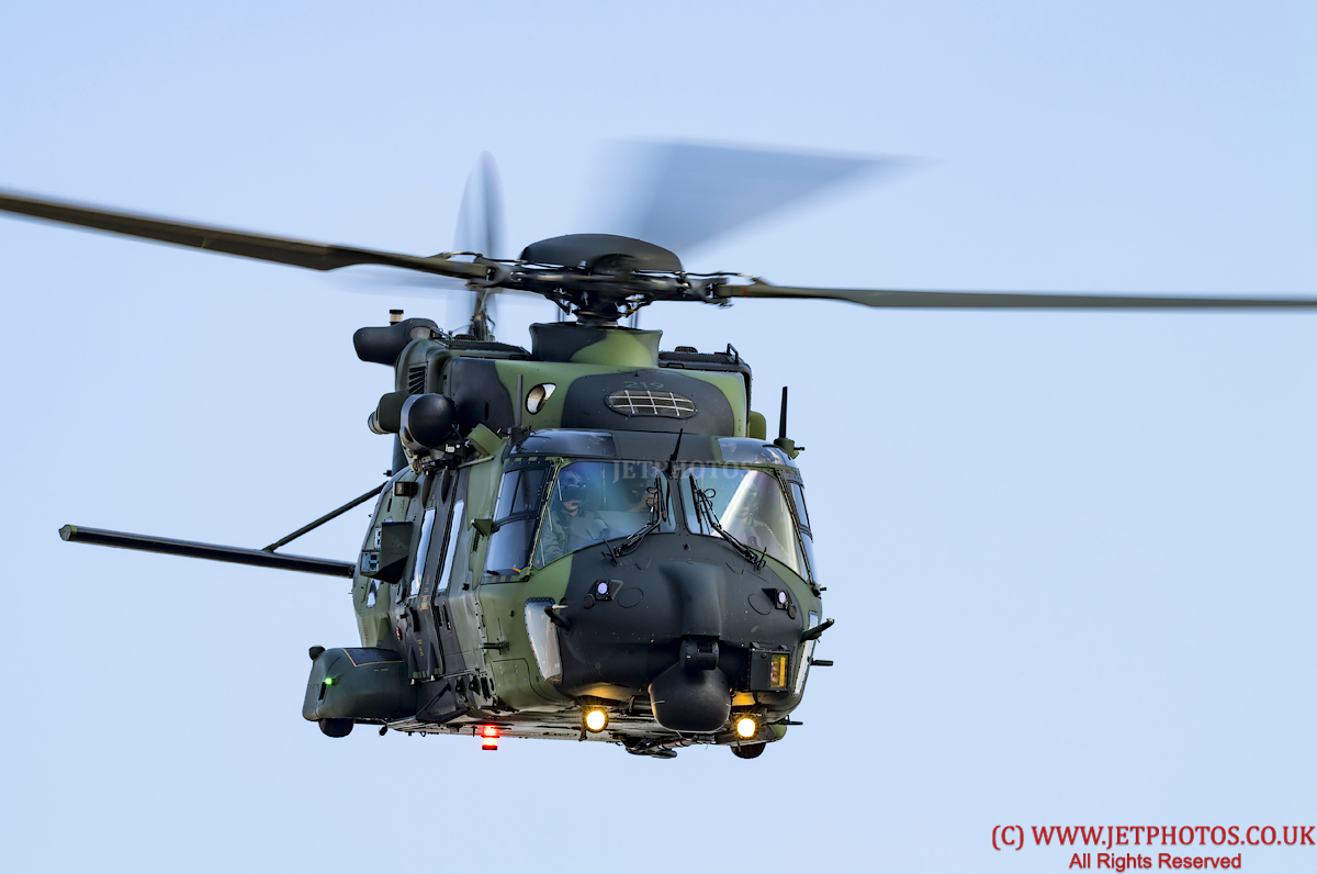 NH90 TTH Helicopter, Finnish Army