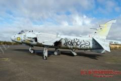 Royal Navy Sea Harrier FRS1