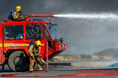 Royal Navy Fire Fighting /crew rescue training