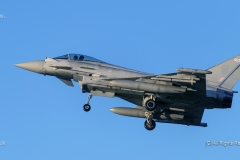 Typhoon at RAF Coninsby