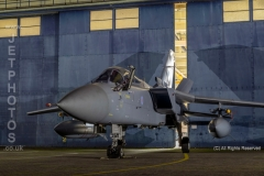 RAF Tornado F3, ZE340, GO, 43 Squadron at RAF Cosford/Threshold.Aero nightshoot