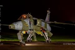 RAF Sepecat Jaguar, GR1, CE, XX819 at RAF Cosford/Threshold.Aero nightshoot