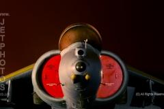 Harrier, GR9, ZD465, at RAF Cosford/Threshold.Aero nightshoot