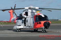 Aircrew training taking place at Cornwall Newquay airport for cews manning the new Norwegian AW101, the most advanced SAR Helicopter in the world today. Mission equipment includes Leonardo's  Osprey Radar that provides 360 degree surveillance capabilty, power plant of three GE Aviation CT7-8 turboshaft engines, two rescue hoists, electro-optical/infrared sensor, automatic flight control system (AFCS) searchlight, mobile telephone detection system and a fully integrated avionics and mission system.  The aircraft has a large cabin area and all weather capability.