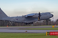 RAF Atlas (A400M) in circuit at Newquay Airport/RAF ST Mawgan