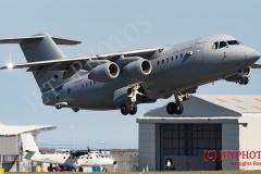RAF BAe 146/AVRO RJ at RAF St Mawgan