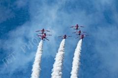 RAF Red Arrows Display Team