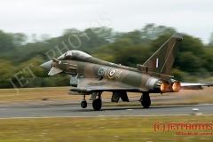 RAF Typhoon Synchro/Single Display Team