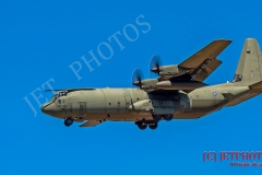 RAF Hercules C130 ZH868 missed approach at RNAS Culdrose