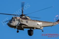 Royal Navy Sea King ASAC MK7 Helicopter from RNAS Culdrose