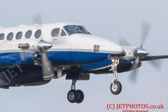 Royal Navy KingAir Beech 350 of 750 Squadron