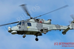 Royal Navy Wildcat Helicopter ZZ376