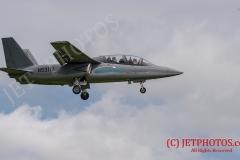 Texan Airland Scorpion N531TA on approach to RNAS Culdrose