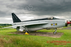 Solway Aviation Museum, Carlisle, English Electric Lightning,