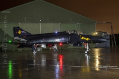 "RAF F4 Phantom FG.1, XV582, ""Black Mike"" at Threshold.Aero Day/Nightshoot at South Wales Aviation Museum"